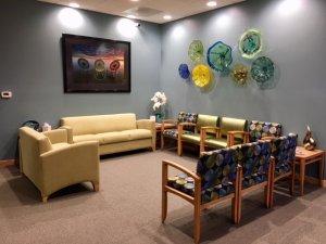Capital Endodontics Waiting Room